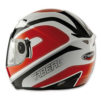 White//Black Caberg V2RR Chrono Motorcycle Motorbike Full Face Touring Helmet