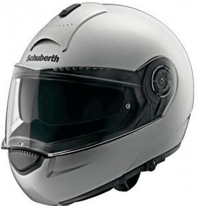 schuberth c3 silver helmet