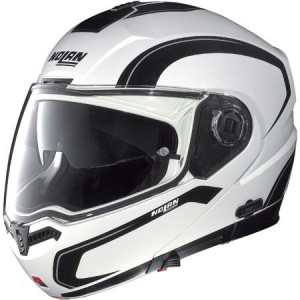 Nolan n104 motorcycle crash helmet side view