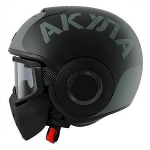 shark-drak-soyoiuz-mat-black-silver-motorcycle-crash-helmet-side-view