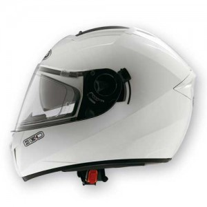 caberg ego white crash helmet photo