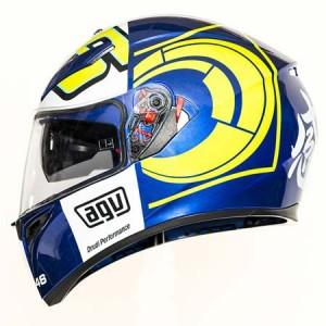 AGV K3 SV helmet Rossi Blue