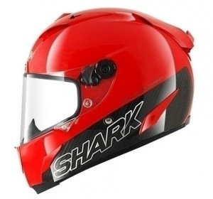 Shark Race R Pro Carbon in blank red colors
