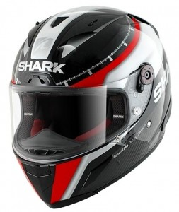 shark race r crash helmet