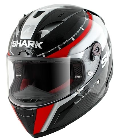 5533edac8e272 shark-race-r-pro-carbon-racing-divis-black-white-red-front - Billys ...