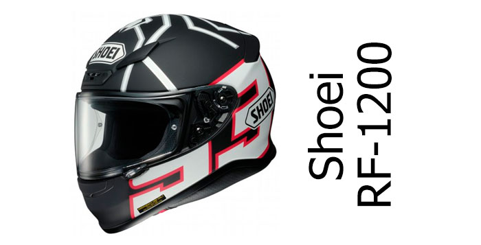 A look at the Shoei RF-1200 Motorcycle Helmet (RF-1200)