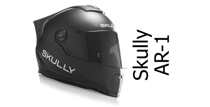 Skully AR1 crash helmet