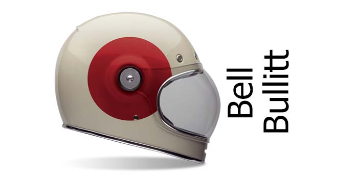 bell bullitt retro crash helmet photograph