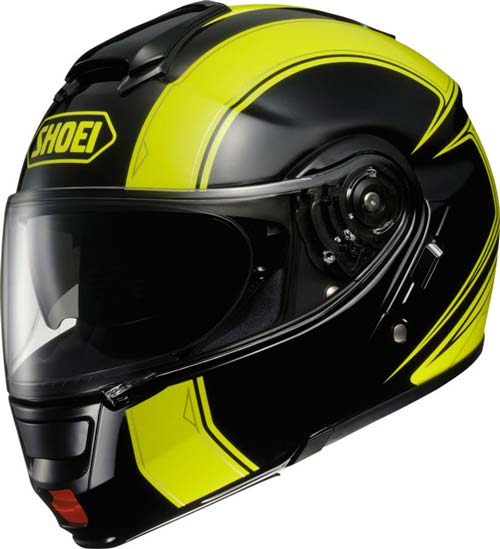 shoei neotec flip-up crash helmet