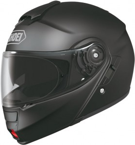 shoei neotec flip-up crash helmet