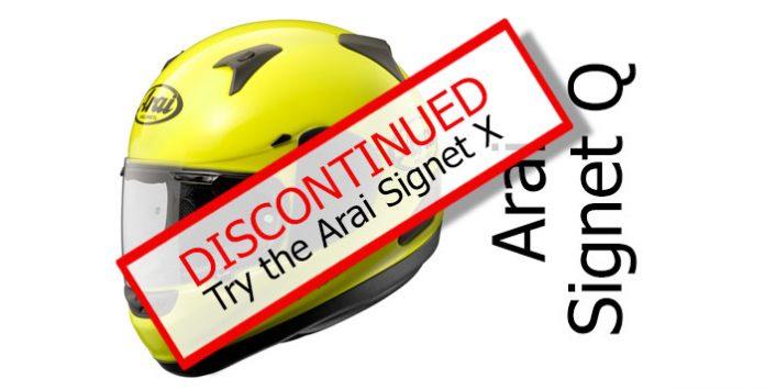 1cf614d4 Review of the Arai Signet-Q full face crash helmet