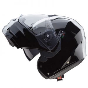 caberg-duke-2-modular-motorcycle-helmet-in-Legend-black-white-side-view