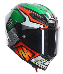 AGV Corsa '23' crash helmet design side view