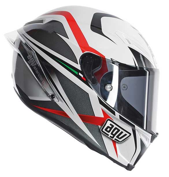 AGV Corsa motorcycle crash helmet guy martin
