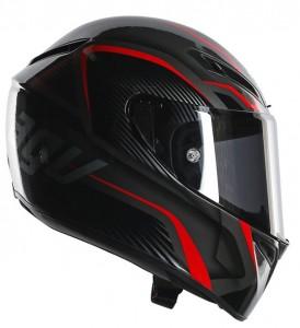 AGV-GT-Veloce-TXT-black-red-crash-helmet