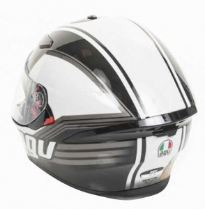 AGV-k5-drift-grey-rear-view-crash-helmet