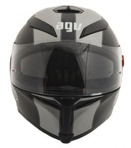 agv-k5-crash-helmet-naked-blk-silver-front-view
