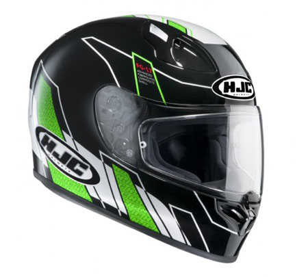 Hjc Fg 17 >> Hjc Fg 17 Crash Helmet Zodd Green Side View Billys Crash Helmets