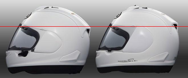 Arai-RX-7V-versus-old-RX7