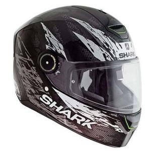 Shark-skwal-Ellipse-black-white-helmet