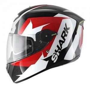 Shark-skwal-Sticking-black-red-helmet
