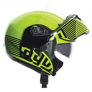 AGV-compact-audax-fluo-yellow-side-view
