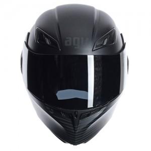 AGV-compact-course-crash-helmet-audax-matt-black-front
