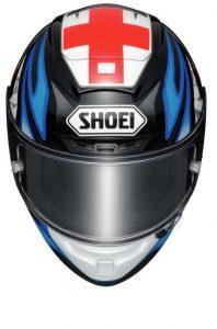 Shoei-X-Spirit-III-X-fourteen-motorcycle-crash-helmet-bradley-smith-front-view