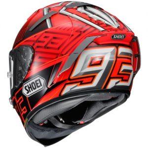 Shoei-X-Spirit-III-X-fourteen-motorcycle-crash-helmet-marquez-Red-Black