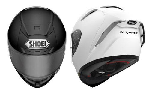 shoei-x-spirit-III black white