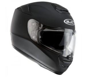 HJC RPHA ST matt black rubbertone crash helmet