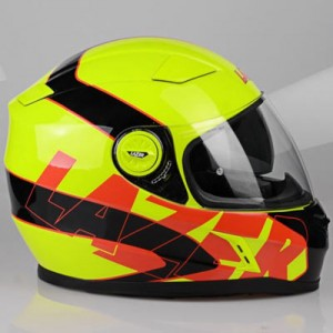 Lazer-Bayamo-crash-helmet-reflex-fluo-yellow