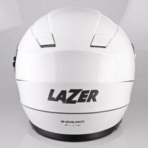 Lazer-Bayamo-z-line-gloss-white-crash-helmet
