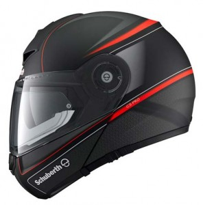 Schuberth-C3-Pro-dark-classic-orange-side-view