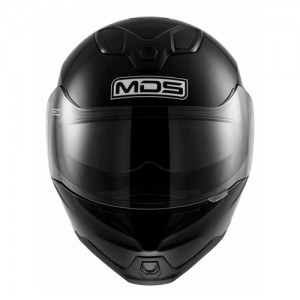 mds-md200-modular-crash-helmet-gloss-black-front-view
