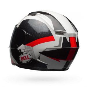 Bell-Qualifier-DLX-MIPS-Motorcycle-Helmet-Accelerator-Red-Black-rear-view