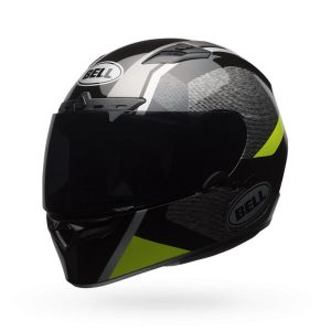 Bell-Qualifier-DLX-MIPS-Motorcycle-Helmet-Accelerator-hi-viz-side-view