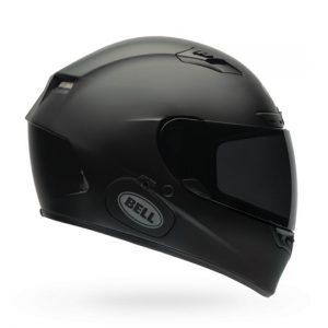 Bell-Qualifier-DLX-MIPS-solid-matt-black-side-view