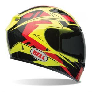 Bell-Qualifier-DLX-Motorcycle-Helmet-clutch-hi-viz-side-view