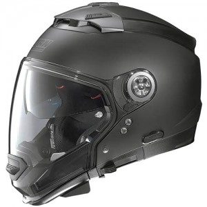 Nolan-N44-evo-crash-helmet-flat-black