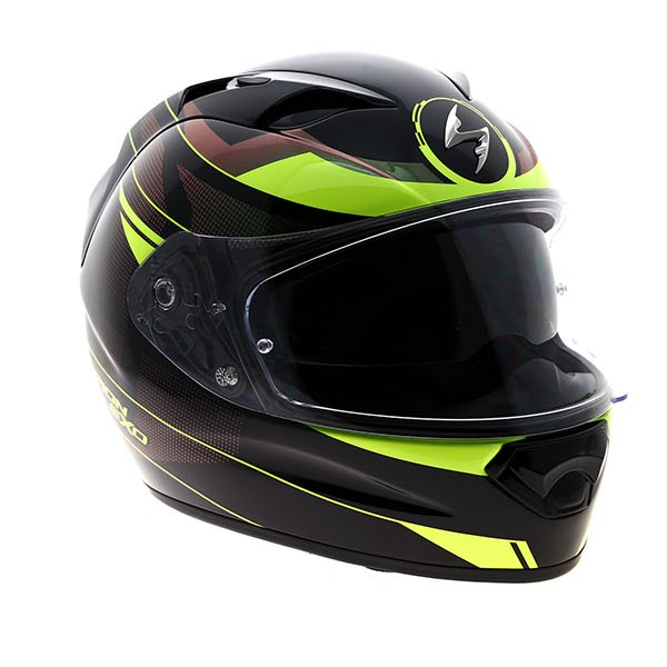 Scorpion Exo-1200 Air EXO-T1200 Solid Gloss Black Motorcycle helmet NEW!