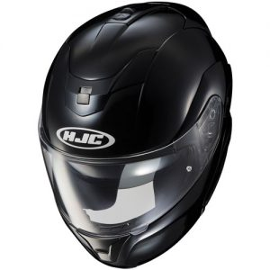 HJC-Sy-Max-III-modular-crash-helmet-gloss-black-top-view