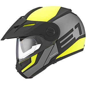 Schuberth-E1-modular-helmet-in-guardian-yellow-side-view