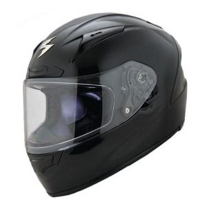 Scorpion-EXO-2000-Evo-Air-crash-helmet-black solid