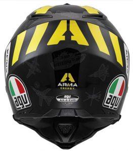 AGV-AX-8-Evo-Arma-Energy-helmet-rear-view