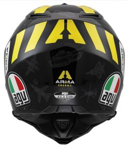 AGV-AX-8-Evo-Arma-Energy-helmet-rear-view