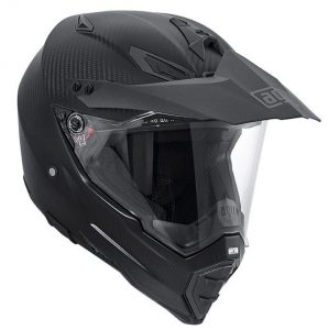 AGV-AX-8-dual-carbon-matt-crash-helmet-side-view