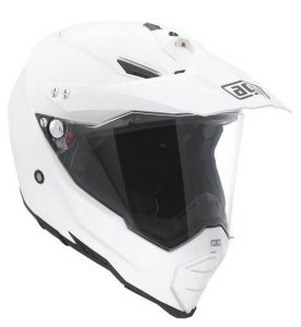 AGV-AX-8-evo-mono-white-crash-helmet-side-view