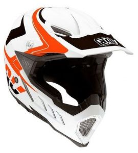 AX-8 Evo Klassik dirt motorcycle helmet