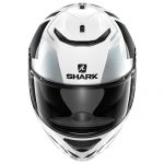 Shark Spartan Droze motorcycle crash helmet front view